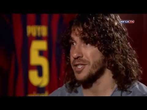 Carles Puyol 15 años, 15 momentos (documental Barça tv)