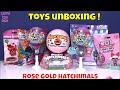 Surprise Toys Pikmi POPS Surprizamals LOL Surprise Hatchimals ROSE GOLD Unboxing Kids Fun