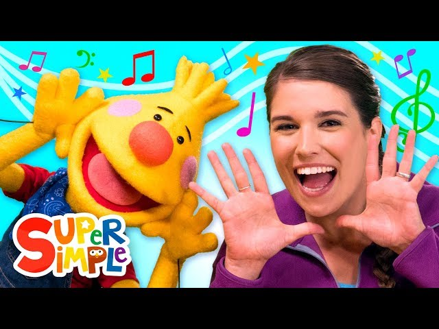 Kids Song Collection #1 | Sing Along With Tobee | Super Simple Songs