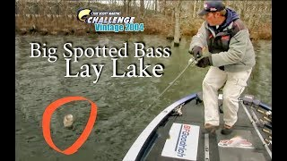 Big Spotted Bass on Lay Lake - TBT