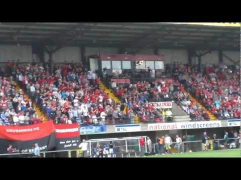 Crusaders v Fulham Europa Cup 2011/12