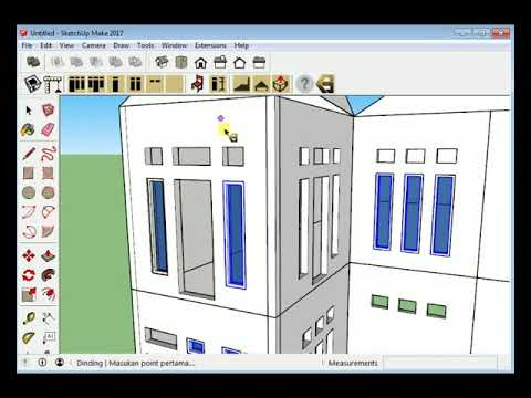 Plugin Sketchup - Ruang Otomatis (BETA TESTER)