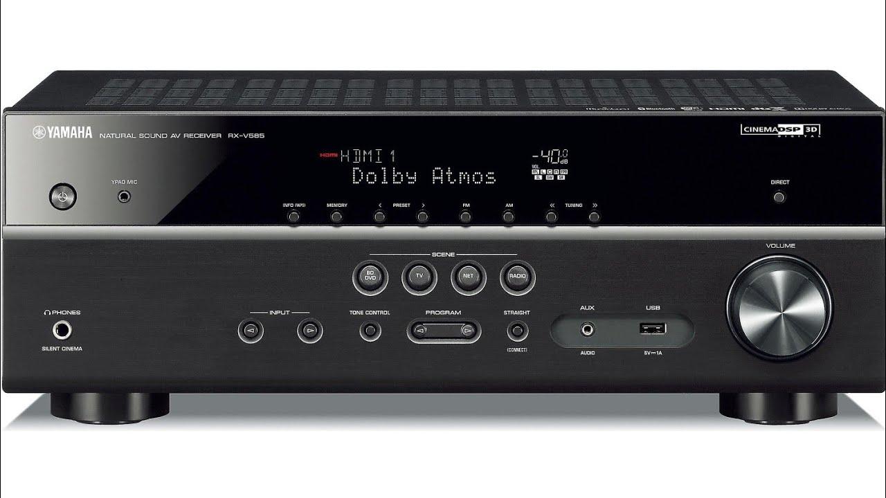 Yamaha RX-V585 - 7.2 Channel Wireless AV Receiver Unboxing Video