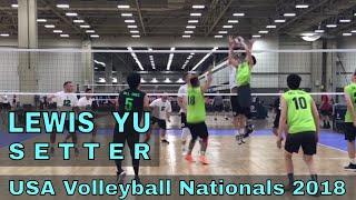 Lewis Yu Volleyball Highlights - USAV Nationals 2018