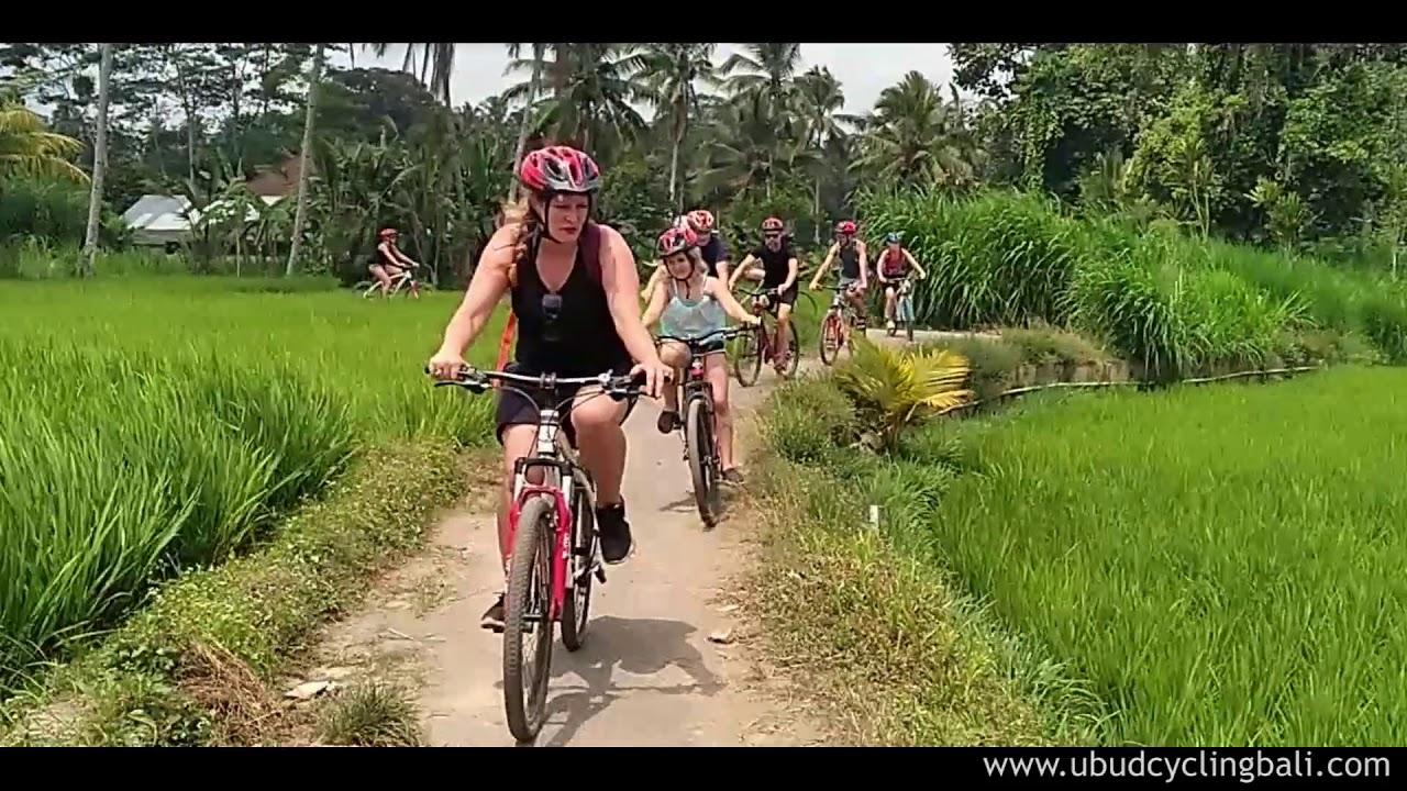 Bali Cycling Tour Exploring Bali Countryside By Bike Youtube