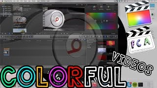 Final Cut Pro X - How to Create Colorful/Vibrant Videos (Boost Saturation/Exposure)