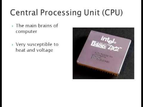 Computer Hardware presentation with Nathan Jackson