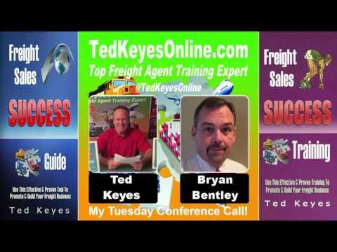 [TKO] ♦ Freight Sales Expert Guest - BRYAN BENTLEY ♦ TedKeyesOnline.com