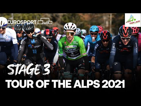 Tour of the Alps - Stage 3 Highlights | Cycling | Eurosport