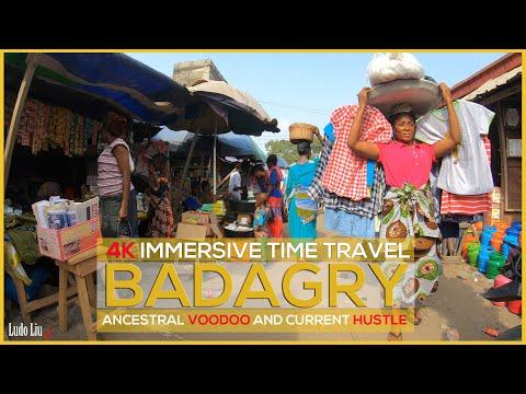 NIGERIA - Discover Badagry - Voodoo, Slavery trade, Market Hustle - 4k HD [21 Mar 2021]