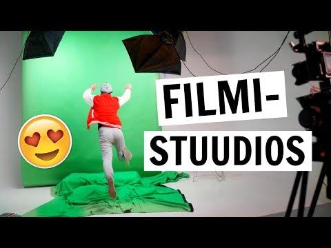 Käisime filmistuudios !! (25 000 ERI kaadritagused)