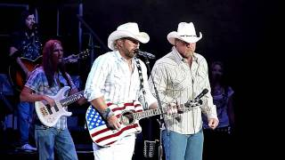Toby Keith & Trace Adkins - Courtesy of the Red, White, & Blue