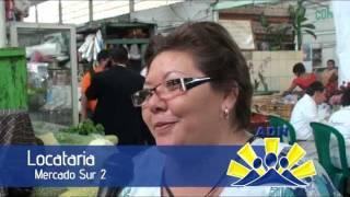 Adela de Torrebiarte visita el Mercado Sur 2