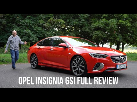 Opel (Vauxhall) Insignia review | Is the GSi version as good as an A6 or 5 series?