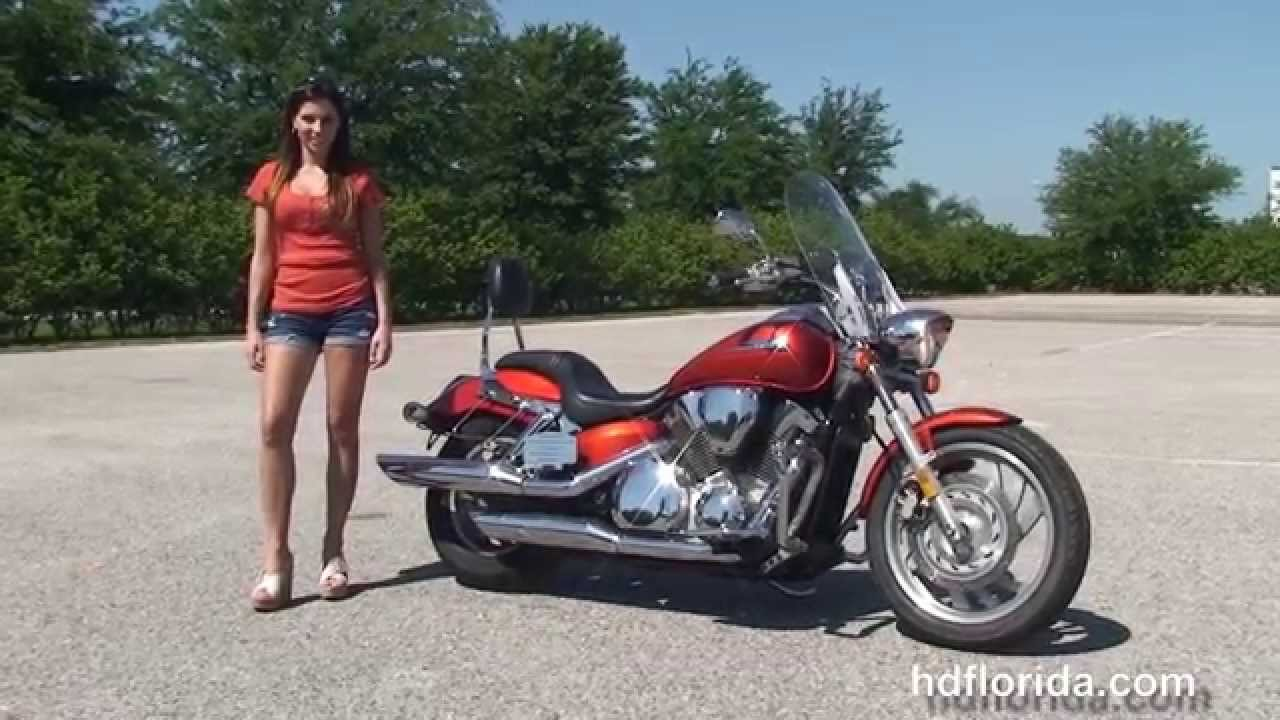 Used 2006 Honda VTX1300 Motorcycles for sale - Hollywood, FL - YouTube