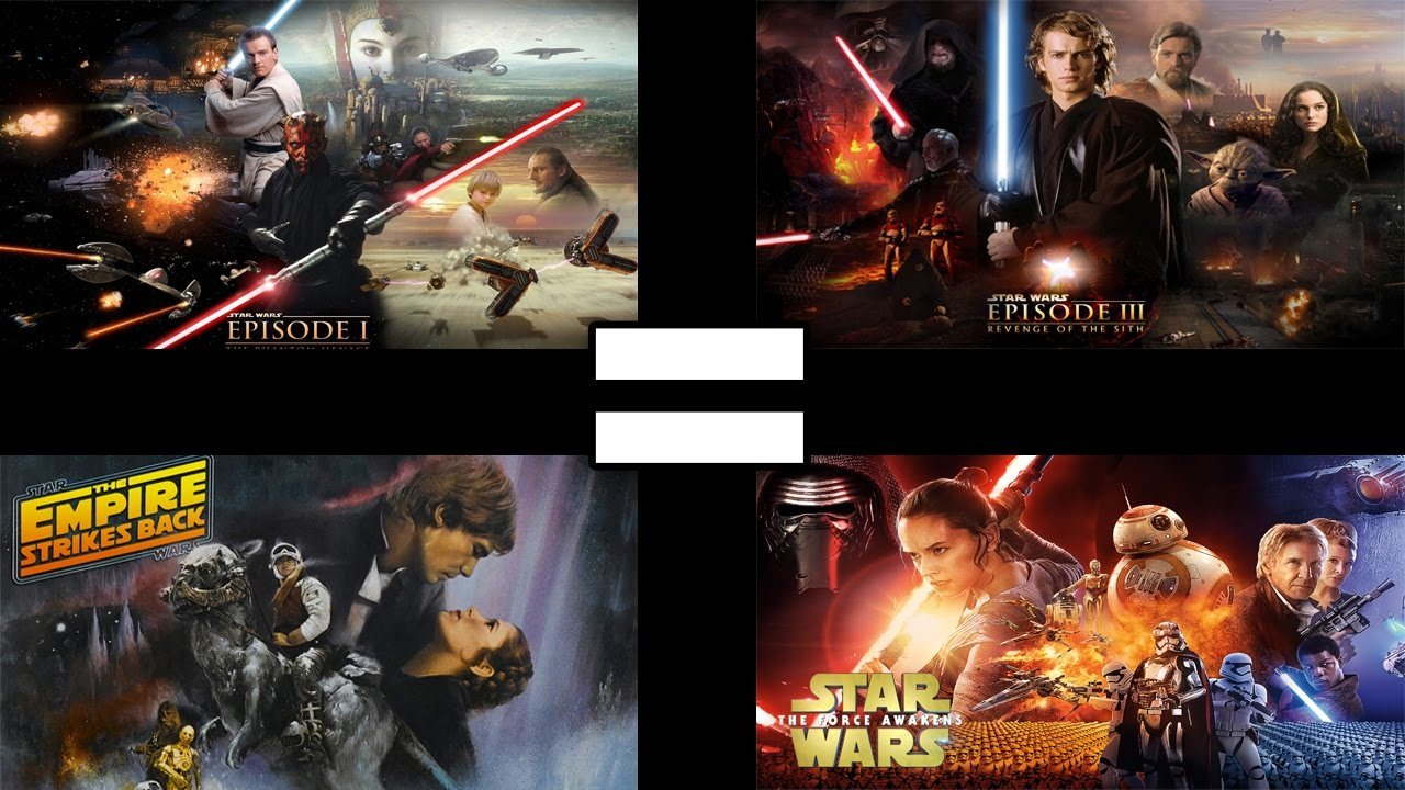 24 reasons all star wars movies are the same youtube