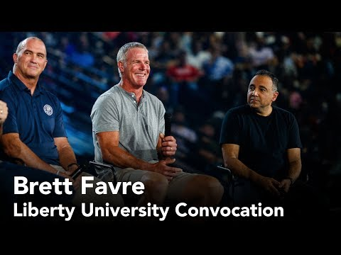 Brett Favre - Liberty University Convocation
