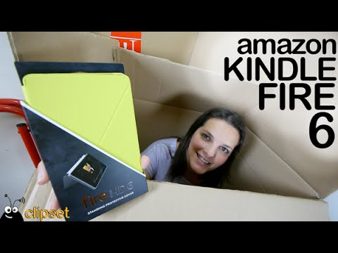 Amazon Kindle Fire HD 6 y HD 7 unboxing en español