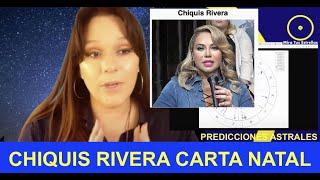 CHIQUIS RIVERA SEPARACIÓN CARTA NATAL PREDICCIONES ASTRALES 2020