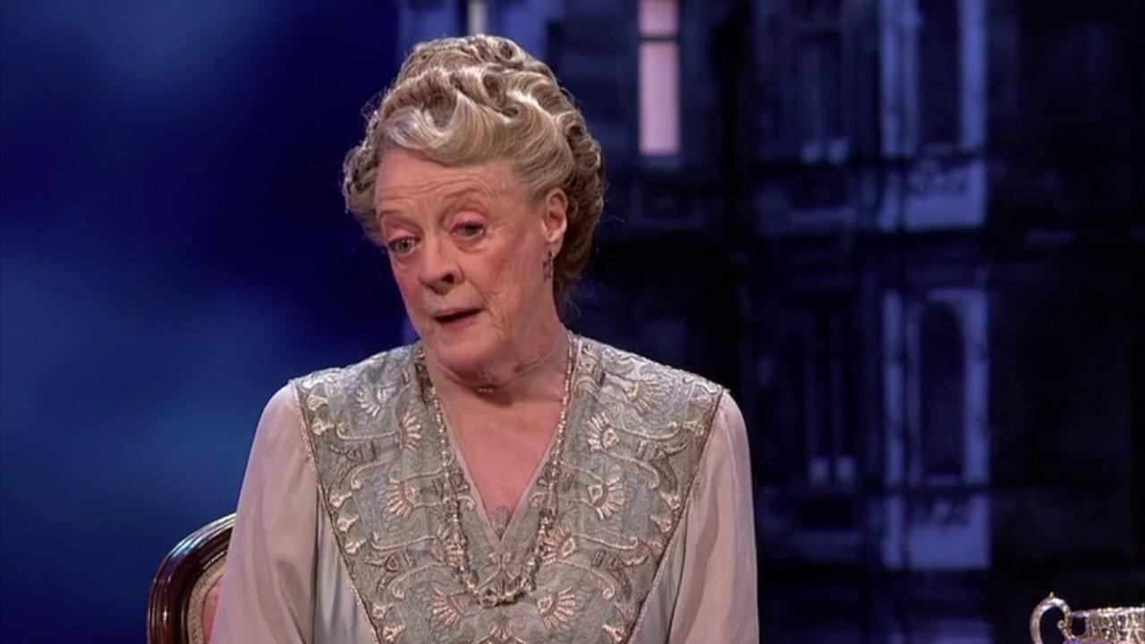 BAFTA Celebrates Downton Abbey- Dame Maggie Smith & Hugh ...