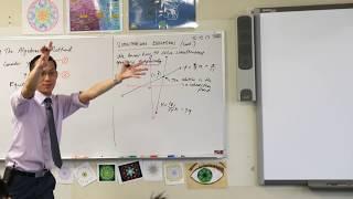 Solving Simultaneous Equations Algebraically
