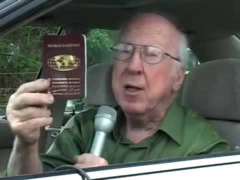 World Citizen crosses border with World Passport