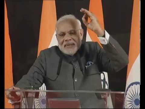 PM Modi at the Indian Community Reception in Shanghai