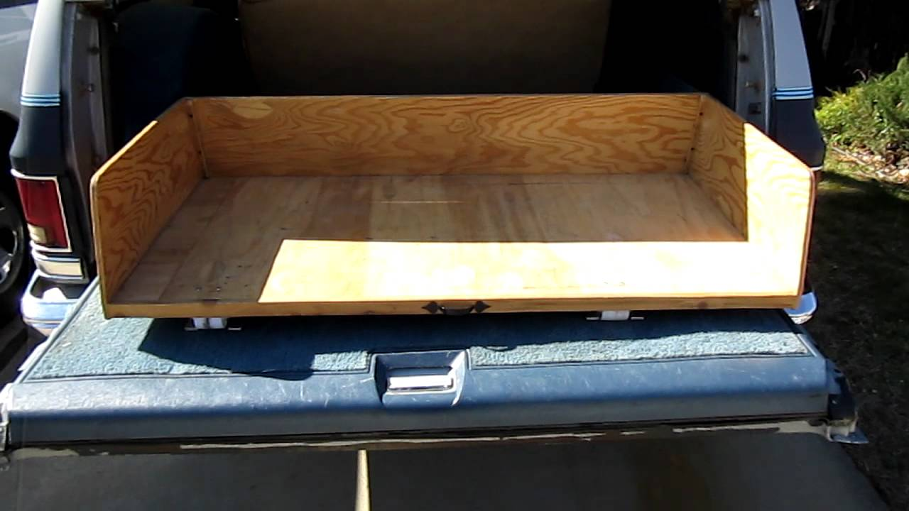 For sale: Rolling storage box for Chevy GMC Suburban ...