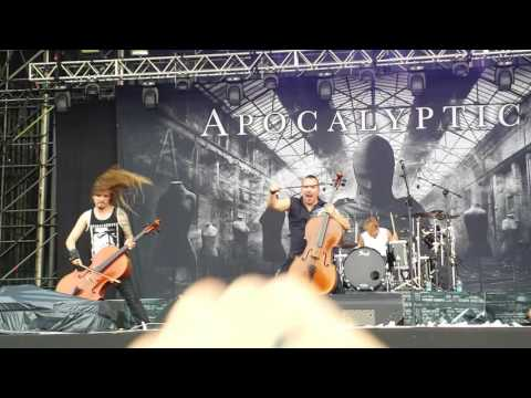 "Apocalyptica-Master Of Puppets live at roma ""Poste Pay Rock""2016"