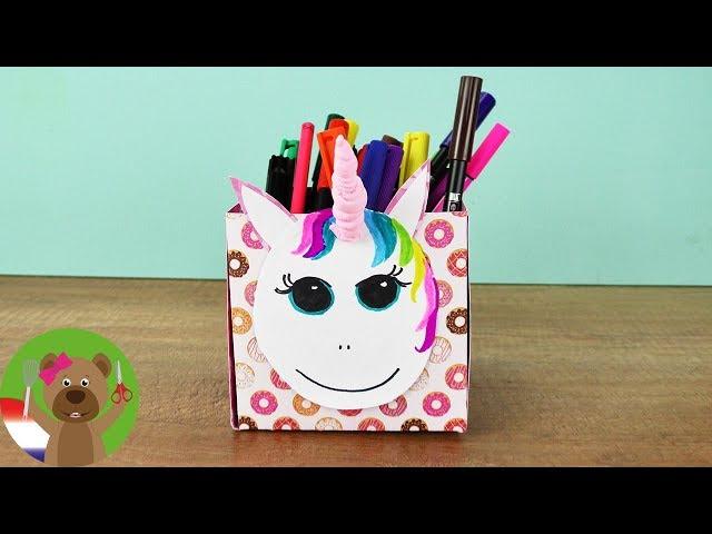DIY inspiratie challenge | EENHOORN DIY IDEEÃ‹N | Schattige regenboog UNICORN als cadeau of decoratie