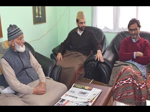 Separatists Meet At Geelani's Hyderpora Over Kashmir Unrest