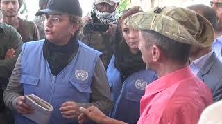 كبير المراقبين الأممين يعقد لقاء بضباط ارتباط القوات المشتركة في الحديدة