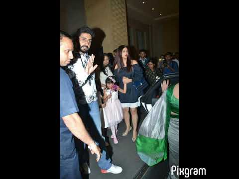 Bachchan family spotted at hotel