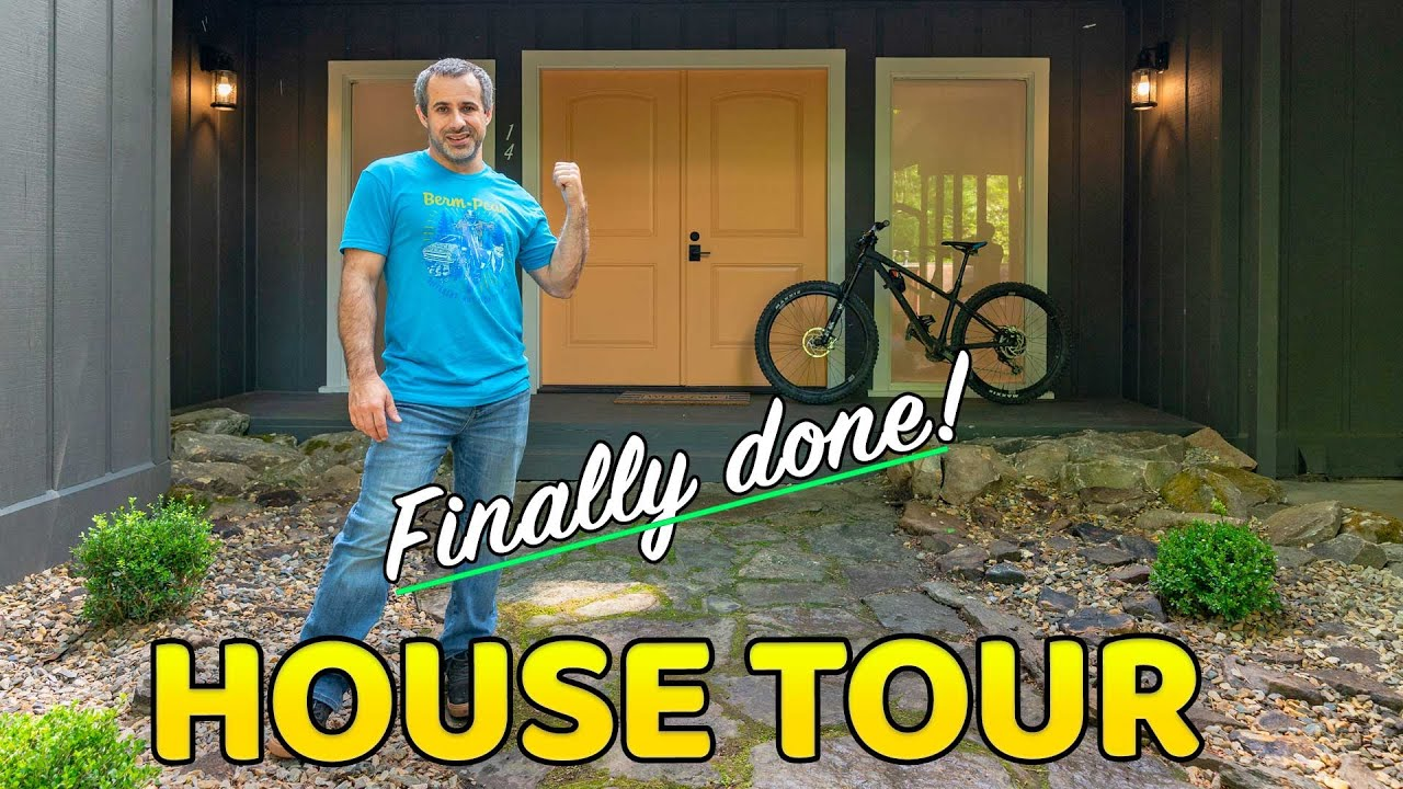 House Tour! The Berm Peak Ranger Station is Done, and you can rent it