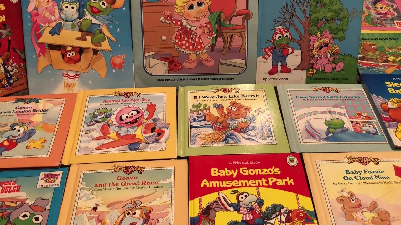 Muppet Babies Books 1980s 80s Then 80s Now Youtube