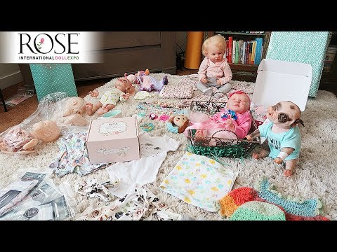 Rose Doll Show 2019 Haul | What Did I Buy at the Reborn Doll Expo?
