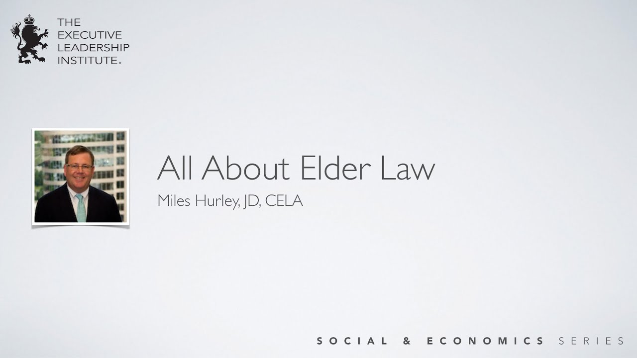 All About Elder Law