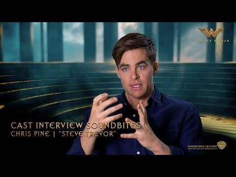 Wonder Woman [Cast Interview Soundbites: Chris Pine | Steve Trevor in HD (1080p)]