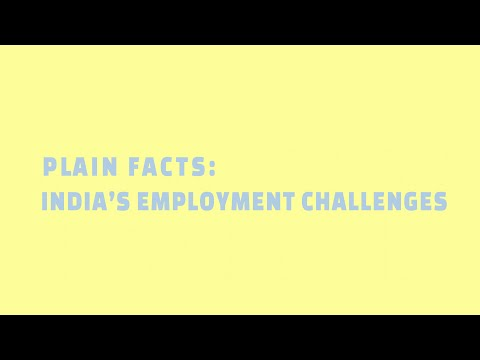 India's employment challenges | Plain Facts