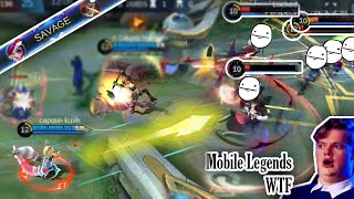 Mobile Legends WTF | Funny Moments NANA SAVAGE 300IQ Gameplay