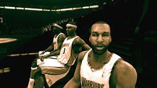 NBA Live 08 - Sonics vs Warriors