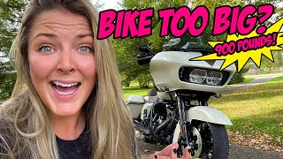 How to ride a BÏG bike / Tips from a girl who's ridden motorcycles for only SIX years!