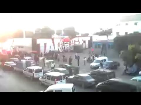 en direct boulevard hay hassani Casablanca point rassemblement  darb widad