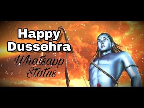 Happy Dussehra Whatsapp Video   Happy Dussehra Video 2017   Whatsapp Status Video  Dasra Wishes