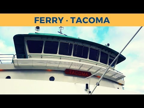 Passage On Ferry TACOMA, Seattle - Bainbridge Island ( Washington State Ferries)