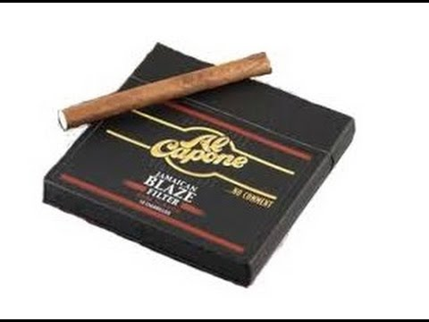 "Cheap Cigar Review : Al Capone ""Jamaican Blaze"" FILTERED (Cigarillos)"