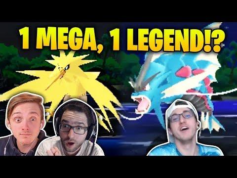 1 MEGA, 1 LEGEND, 1 ROUTE?! | Pokémon Ultra Sun and Moon Randomizer Nuzlocke TRIPLE THREAT #12