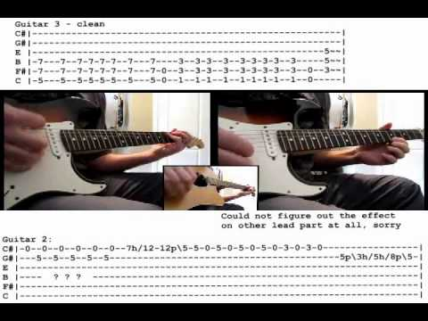 Guitar guitar cover with tabs : Slipknot - Snuff guitar cover WITH TABS - YouTube