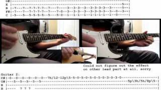 Slipknot - Snuff guitar cover WITH TABS