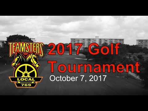 2017 Teamsters Local 769 Scholarship Fund Golf Tournament